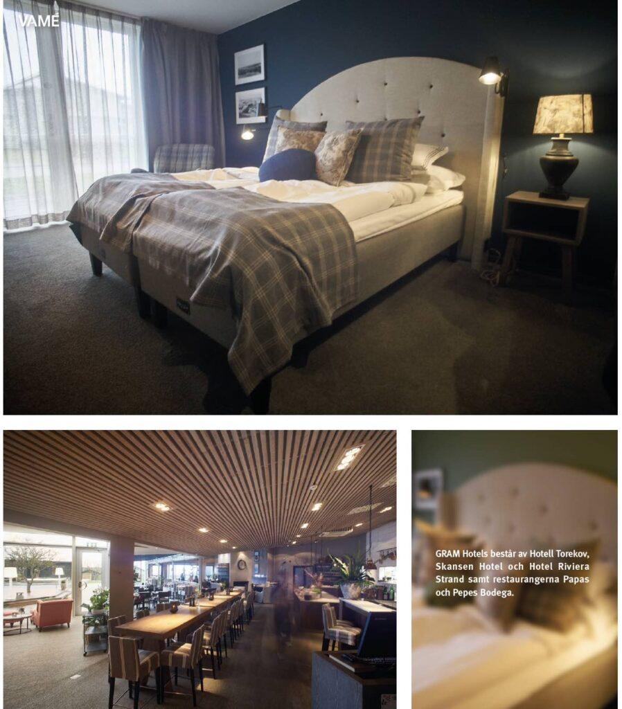 Torekov Hotell Bjärehalvön Skåne.