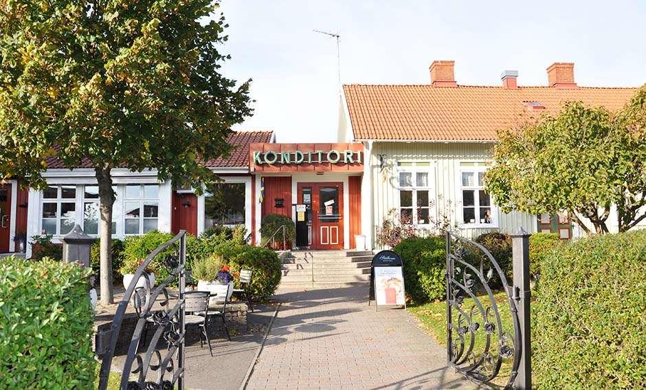 Stålboms konditori och fik i Falkenberg.